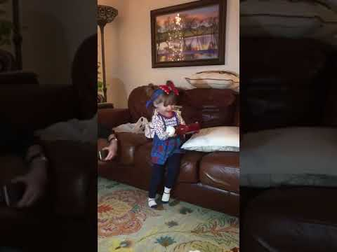 Kerry Collins - Little Girl Gets Ketchup for Christmas!