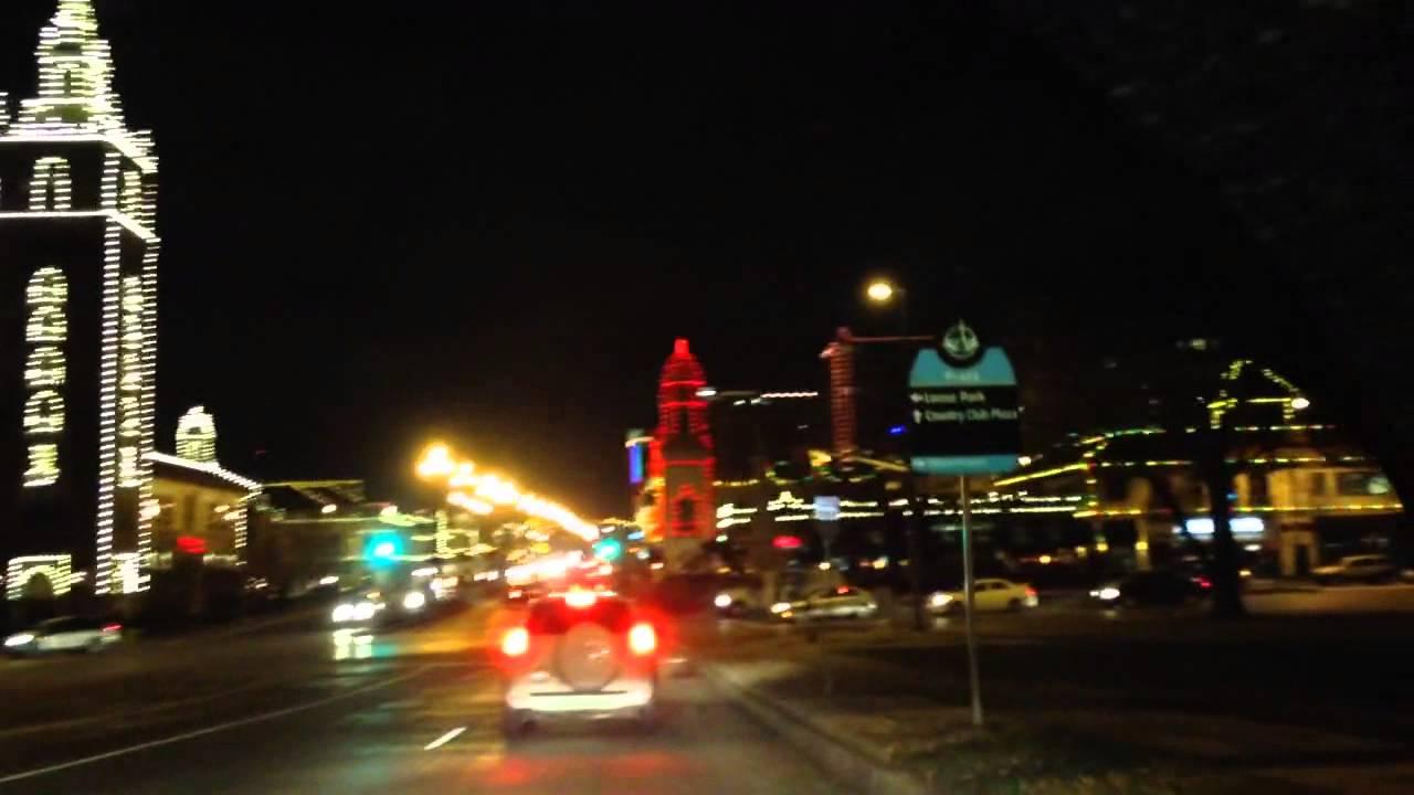 Country Club Plaza - Christmas lights - Kansas City Mo 2014 - YouTube