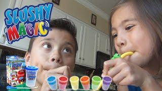 SLUSHY MAGIC!!! Product Review & Demo with EvanTubeHD
