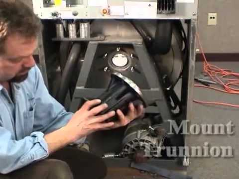 How to Replace Trunnion Bearing Housing 18-60LB Washers