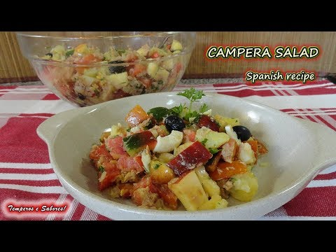 CAMPERA SALAD, Spanish recipe, healthy, delicious and refreshing