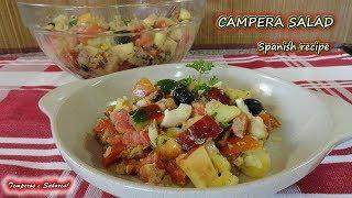 CAMPERA SALAD, Spanish recipe, healthy, delicious and refreshing