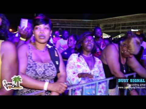 Busy Signal Performance @ Red Stripe Beer Fest  [May 22, 2016]