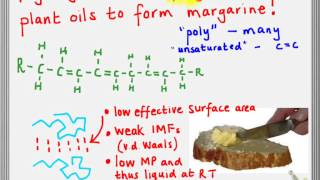Hydrogenation of oils to form margarine