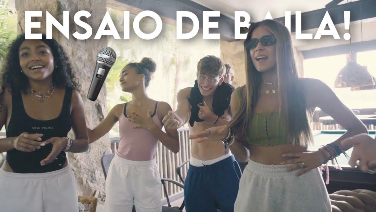 """Membros Do Now United Ensaiam """"Baila"""" - Acústico! (LEGENDADO PT-BR)"""