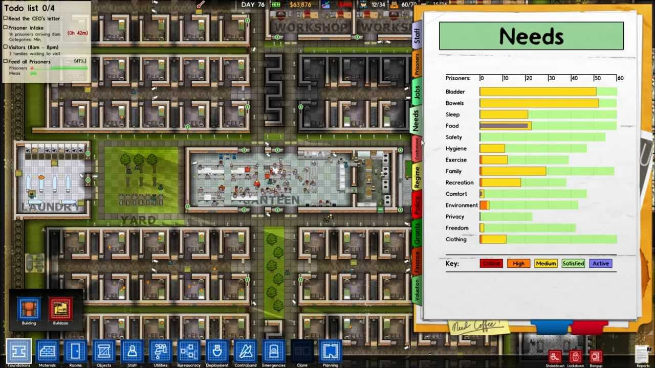 No regime slot prison architect