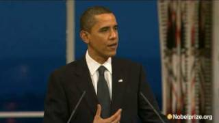 Download 2009 Nobel Peace Prize Lecture by Barack Obama Mp3 and Videos