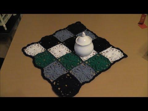 Quadrate Häkeln Teil 2 Von 2 Youtube