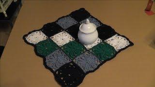 play ihr 8 quadrat f r ihre patchwork decke h keln. Black Bedroom Furniture Sets. Home Design Ideas