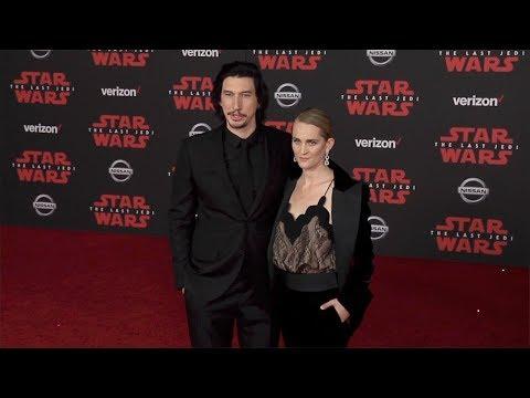 """Adam Driver """"Star Wars: The Last Jedi"""" World Premiere Red Carpet"""
