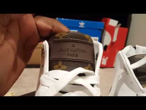 27bfcb539ad6e Louis Vuitton Line up Sneaker Boot by Perfectkickz ru - YouTube