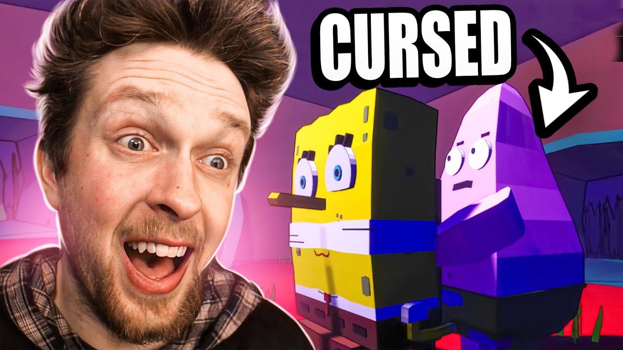 SpongeBob but it's a cursed indie game