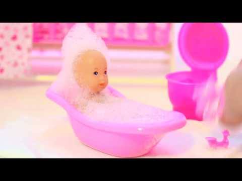 Baby Doll Eating Food Baby Doll Potty Training / My Disney Toys