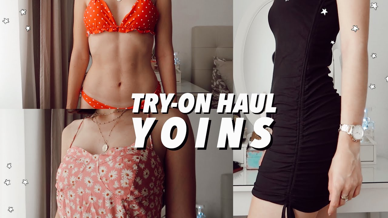 ✰ TRY-ON HAUL DE YOINS ✰ #summerhaul #yoins