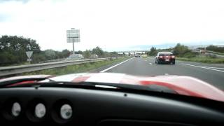 Dodge Viper RT/10 in french Autobahn !!!