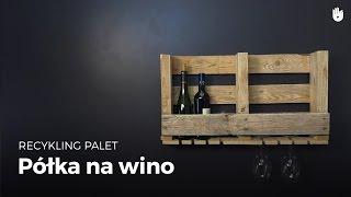 W tym poradniku nauczymy Cię jak wykonać półkę na wino z drewnianej...