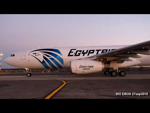 Airbus A330-200 P2F Freighter SU-GCE Egyptair Cargo (OST/EBOS) 27sep2018