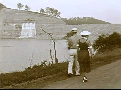 Construction of Mohican Dam ~ Pleasant Hill Lake  ~ Late 193