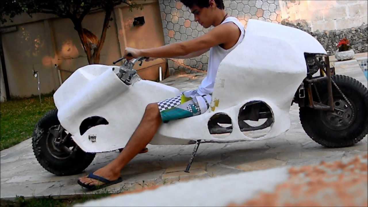 Akira Bike Projeto Homemade Parte 5 Youtube