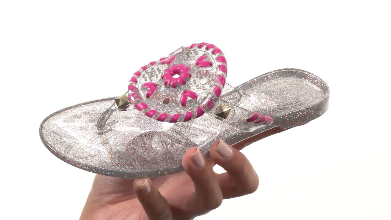 fbf4065fd941 Jack Rogers Miss Sparkle Georgica Jelly (Toddler Little Kid Big Kid)  SKU 8685770