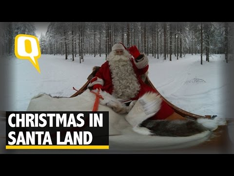 The Quint: 360° View of Christmas in Santa's Arctic Home