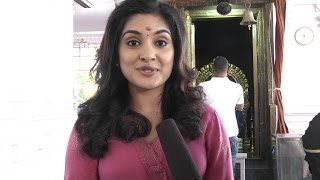 Nivedhitha Speech at her New Movie Opening - Siva || Dvv Entertainments