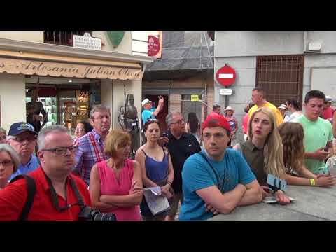 From Madrid to Toledo in July 2017. Part 2 of 3
