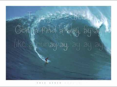 Runaway - Mat Kearney (SOUL SURFER) LYRICS ON SCREEN