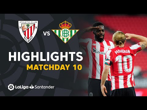 Ath. Bilbao Betis Goals And Highlights