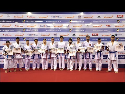 kata buat grup wa  world karate federation wkf