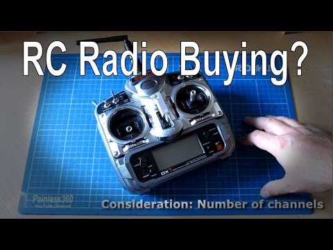 Remote Control Quick Tips - Considerations when buying a radio/transmitter