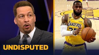 Lakers need to focus on becoming less 'LeBron-centric' going forward — Broussard   NBA   UNDISPUTED