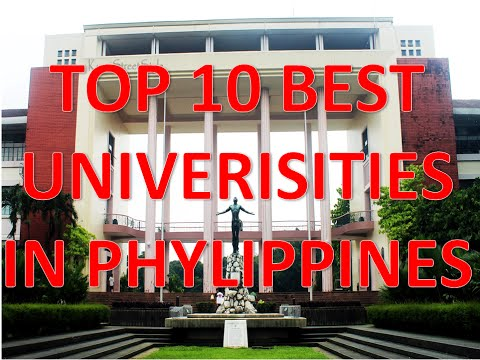 Top 10 Best Universities In Philippines/Top 10 Mejores Universidades De Filipinas