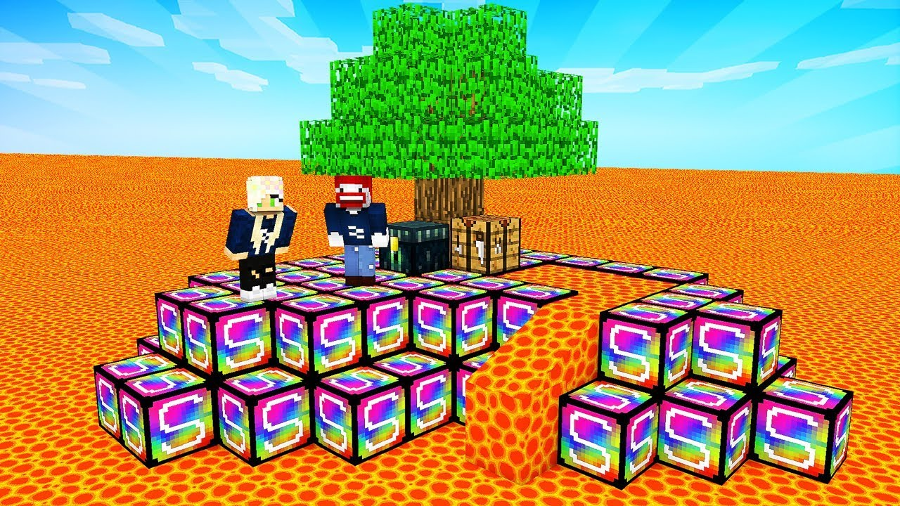 DAS UNBESIEGBARE WELTRAUM SCHWERT in Minecraft Lucky Block ...