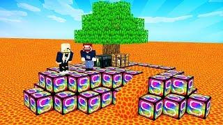 DAS UNBESIEGBARE WELTRAUM SCHWERT in Minecraft Lucky Block Skyblock