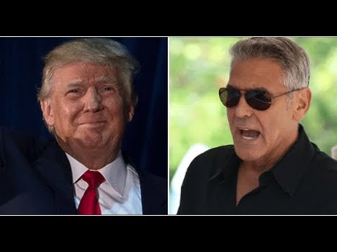 REPORT! ANTI TRUMP GEORGE CLOONEY HIT WITH MAJOR SCANDAL!
