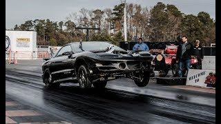 No Prep testing Single Turbo Trans am! The BOOSTED ROOSTER!!