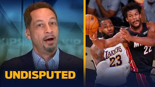 Chris Broussard on Heat's Game 3 upset of Lakers: 'Lakers took them lightly' | NBA | UNDISPUTED