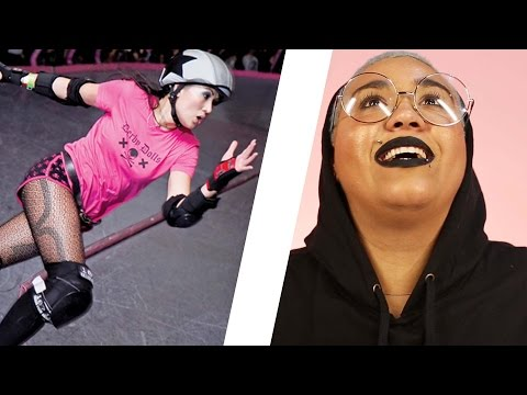Thumbnail: Women Try Roller Derby For 30 Days