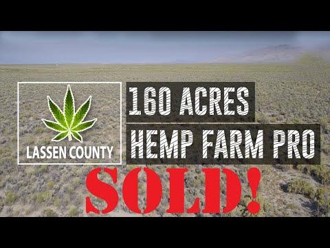 160 Acres Industrial Hemp Zoned    SOLD!