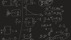 Kondensaattori ja RC-piirin purkautuminen differentiaaliyhtälöineen