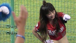 20160828 桃園國際棒球場 Lamigo Monkeys cheerleader.