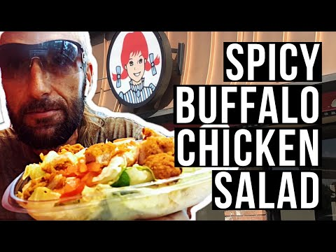 Wendy's Spicy Buffalo Chicken Salad Review