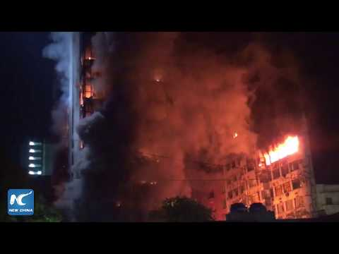 44 people missing after Brazil high-rise building collapse