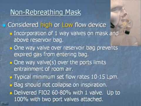 Introduction to Oxygen Therapy Devices