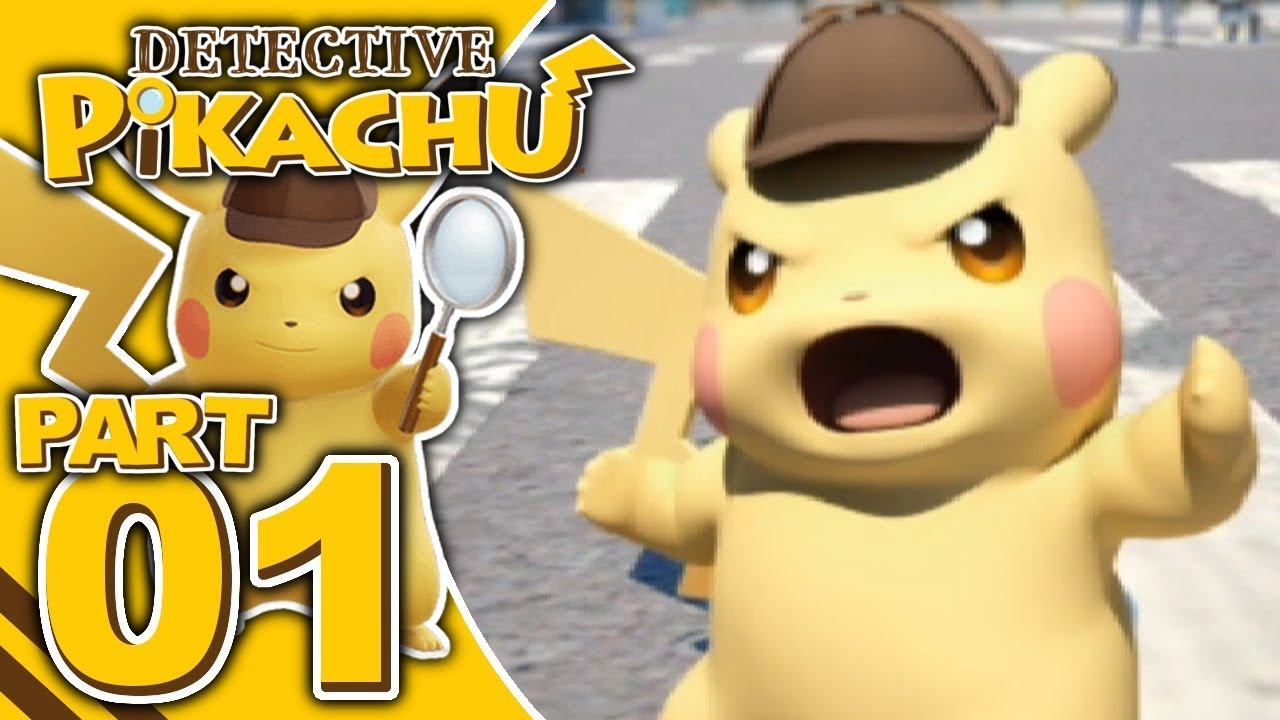 Detective Pikachu Part 1 Aipom Attacks 100 Let S Play