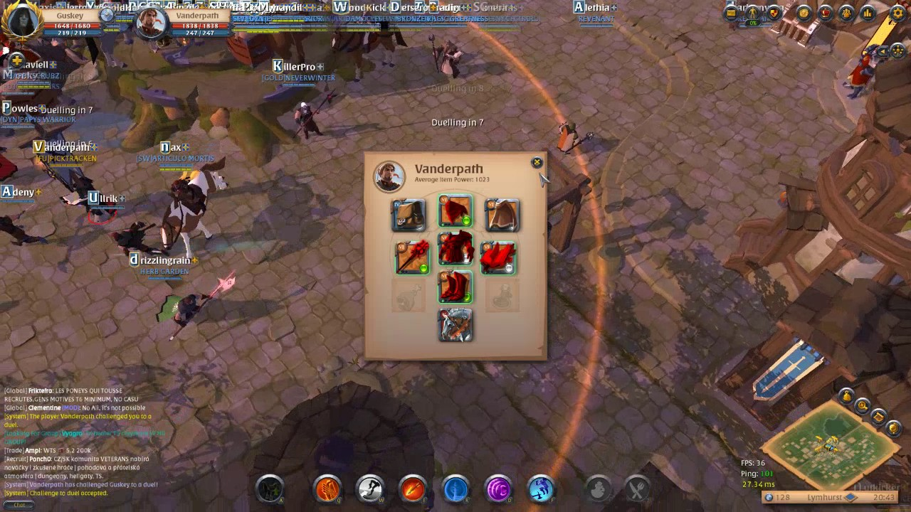 Albion Online - Warbow Kite God Build Guide