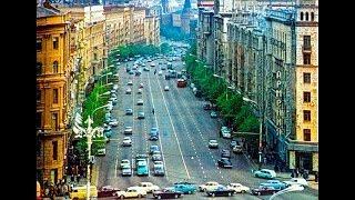 Москва. улица Горького, сейчас Тверская. Путешествие по старинной улице. столицы. Фильм(Другие фильмы цикла