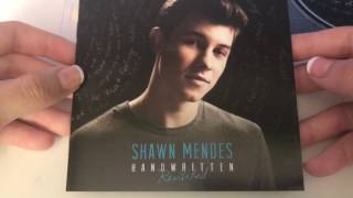 Shawn Mendes - Handwritten Revisited Unboxing