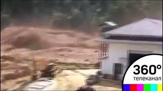 Селевым потоком в Лаосе смыло несколько деревень - СМИ2